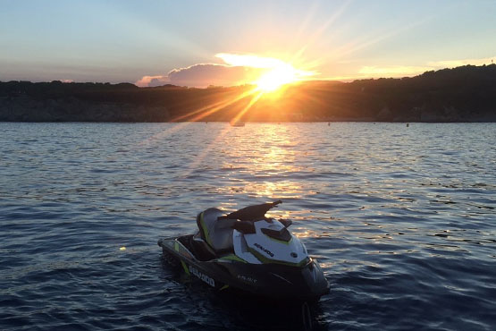 Sunset Jet Ski Tour